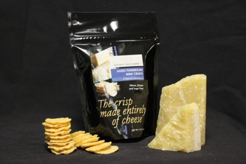 Kitchen Table Bakers Aged Parmesan Mini Crisps