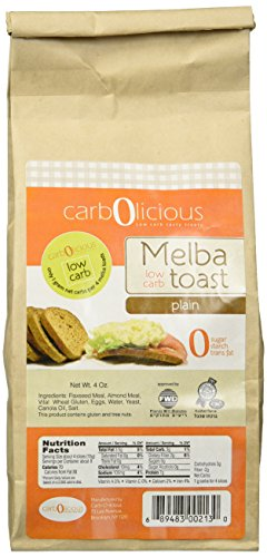 Low Carb Melba Toast (PLAIN)