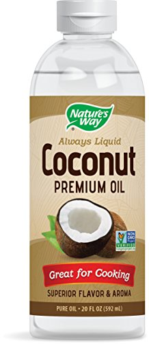 Nature's Way Coconut Premium Oil Great for Cooking
