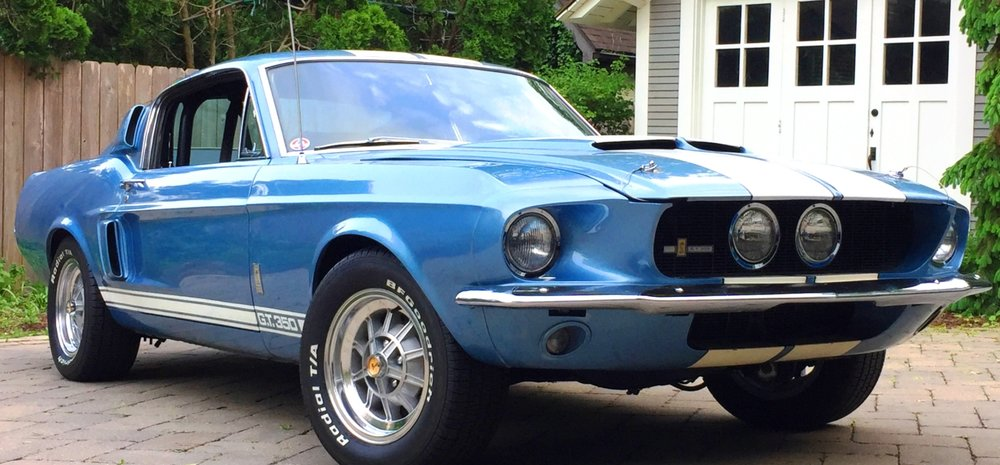 Nick Guisto's Brittany Blue 1967 Ford Mustang Shelby GT350