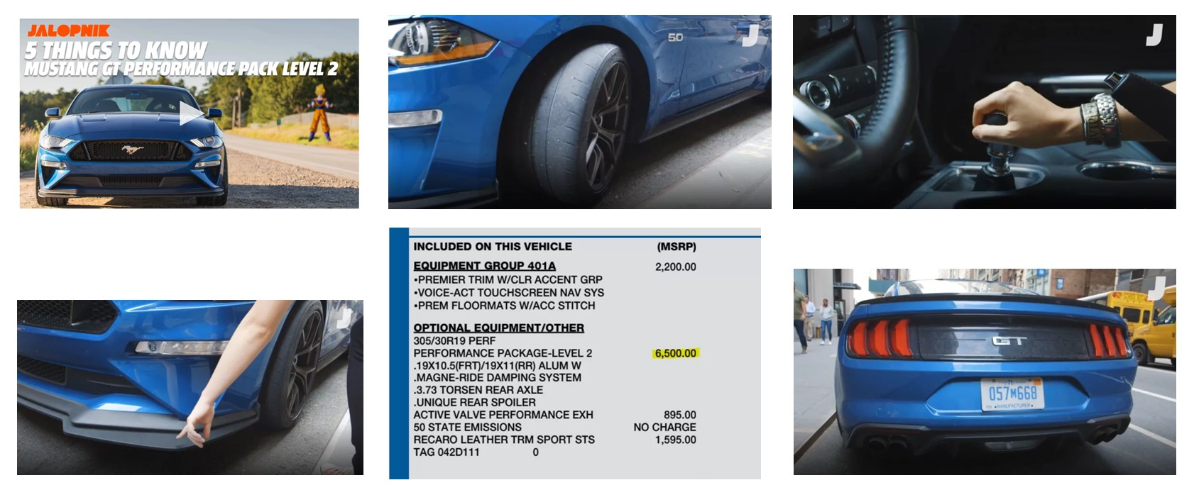 Ford Mustang Gt Performance Pack Level  Five Things You Should Know Stangbangers