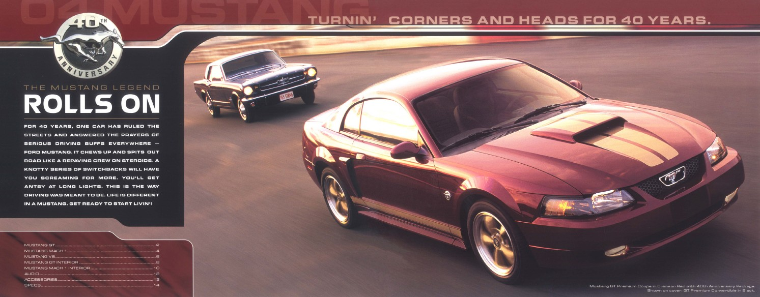 2004 Ford Mustang Brochure Stangbangers 2002 Mach Sound System 02