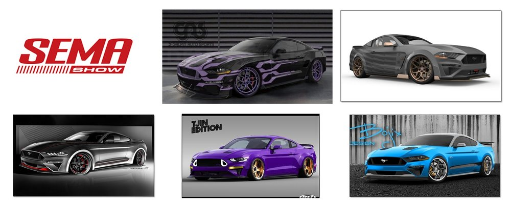 Faster Five Mustang Muscle For Sema 2018 Stangbangers