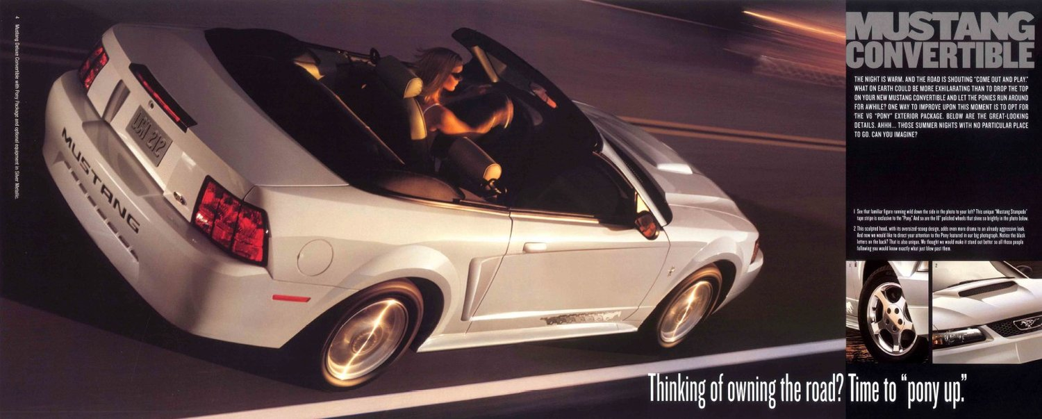 2003 Ford Mustang Brochure Stangbangers 1964 04