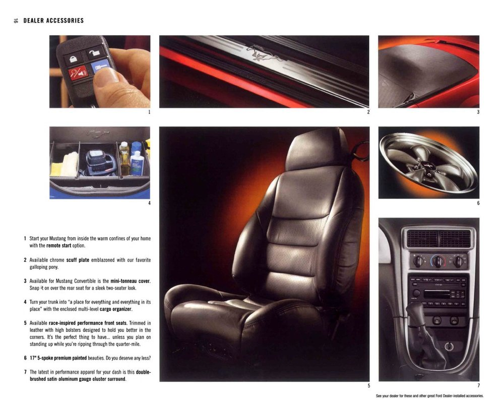 2003 Ford Mustang Brochure Stangbangers Remote Starter 11