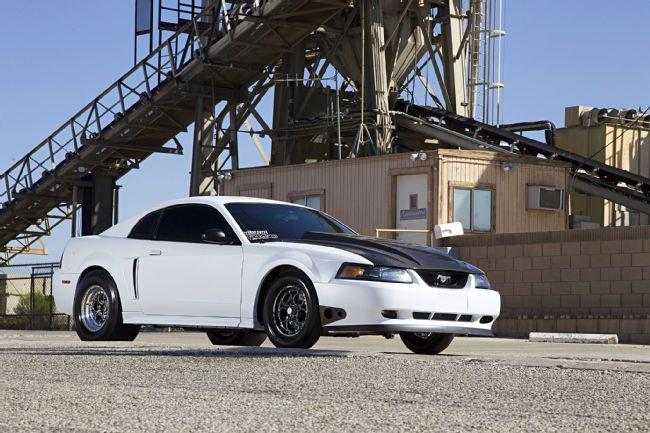 Twin turbo powered 2003 New Edge Mustang — StangBangers