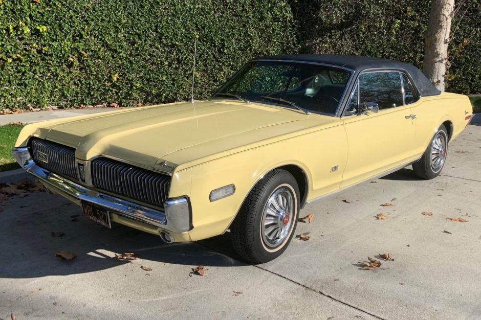 for sale 1968 mercury cougar xr 7 390ci v8 3 speed auto stangbangers stangbangers