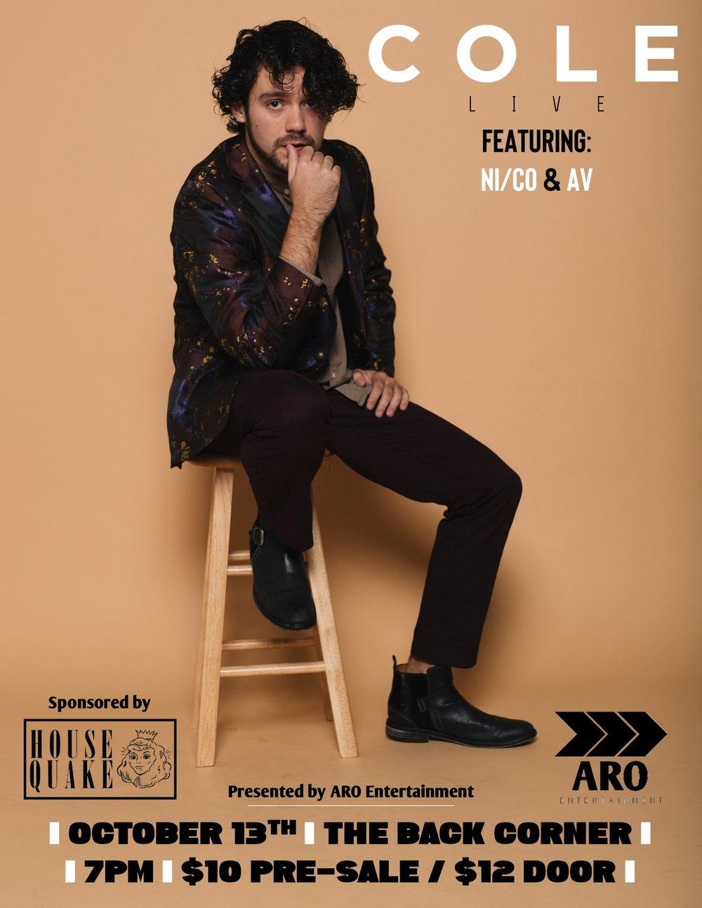 Cole Thannisch Official Show Poster .jpg