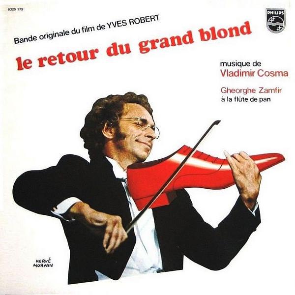 VLADIMIR COSMA - CHRISTINE - 12:19PMAlbum: Le retour du grand blond (1974)Label: Pomme Music