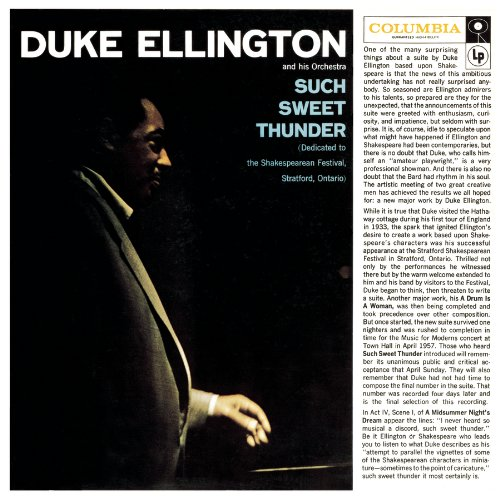 DUKE ELLINGTON - THE STAR-CROSSED LOVERS - 12:40PMAlbum: Such Sweet Thunder (1957)Label: Columbia Records