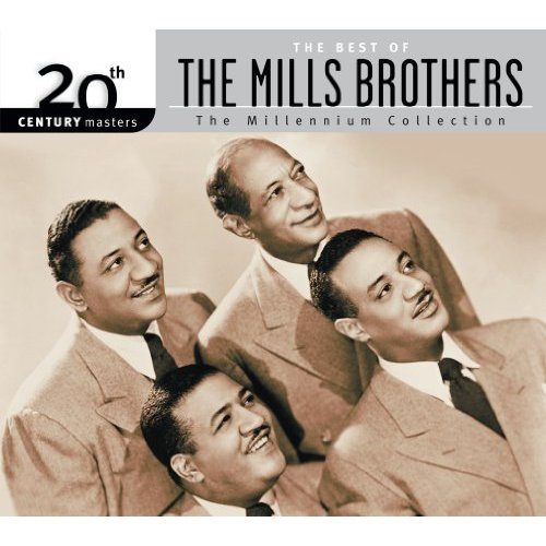 THE MILLS BROTHERS - NEVERTHELESS (I'M IN LOVE WITH YOU) - 12:51PMAlbum: Single (1950)Label: Decca Records