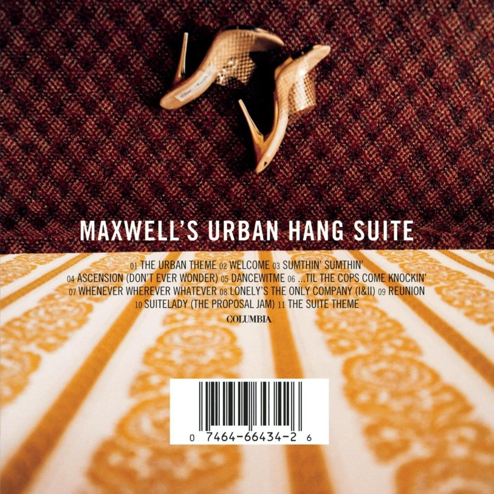 MAXWELL - ASCENSION (DON'T EVER WONDER) - Album: Maxwell's Urban Hang Suite (1996)Label: Columbia Records