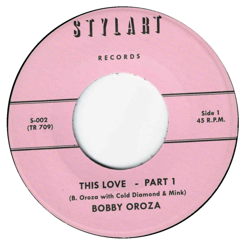 BOBBY OROZA - THIS LOVE, PT. 1 - Album: Single (2016)Label: Stylart Records / Timmion