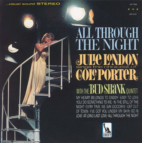 JULIE LONDON - EVERY TIME WE SAY GOODBYE - Album: All Through the Night (1965)Label: Capitol Jazz