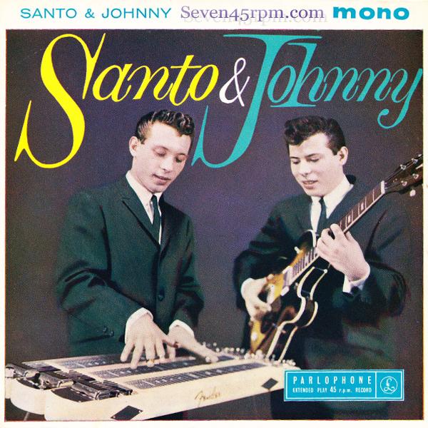 SANTO & JOHNNY - SLEEPWALK - Album: Single (1959)Label: Canadian-American Records