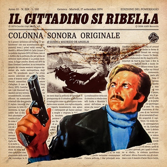 GUIDO E MAURIZIO DE ANGELIS - DRIVING ALL AROUND - 6:05PMAlbum:Il Cittadino Si Ribella (1974)Label: RCA
