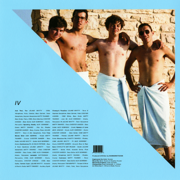 BADBADNOTGOOD - TIME MOVES SLOW (FEAT. SAM HERRING) - 6:46PMAlbum: IV (2016)Label: Innovative Leisure