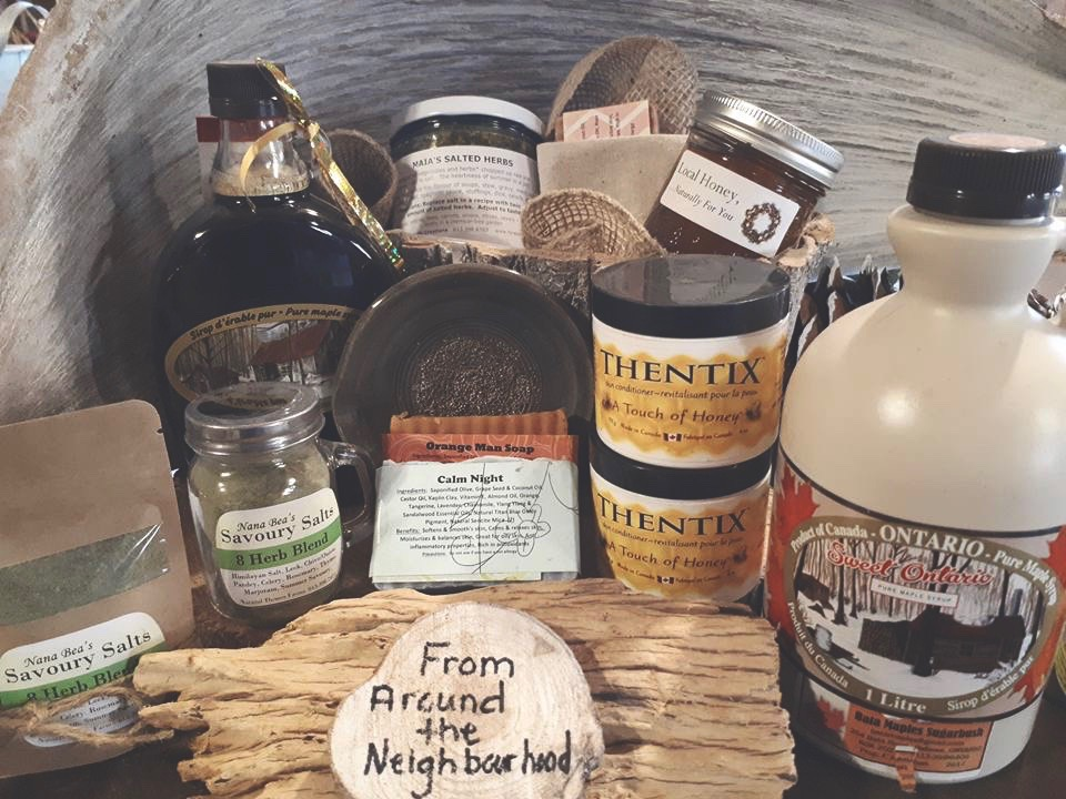 local goods - We believe it's important to support the community. We have a wide selection of locally sourced products that will make the perfect addition to any purchase. Especially unique for gifting. Have something you want to feature with us? Contact to discuss further opportunity.