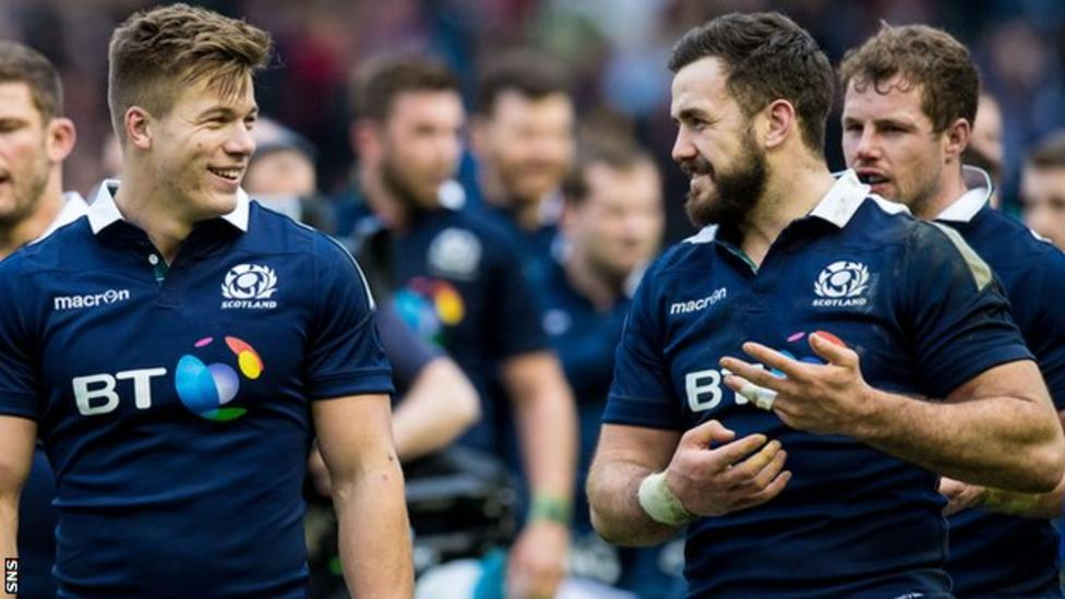 Scotland side is notable more for who is not on tour