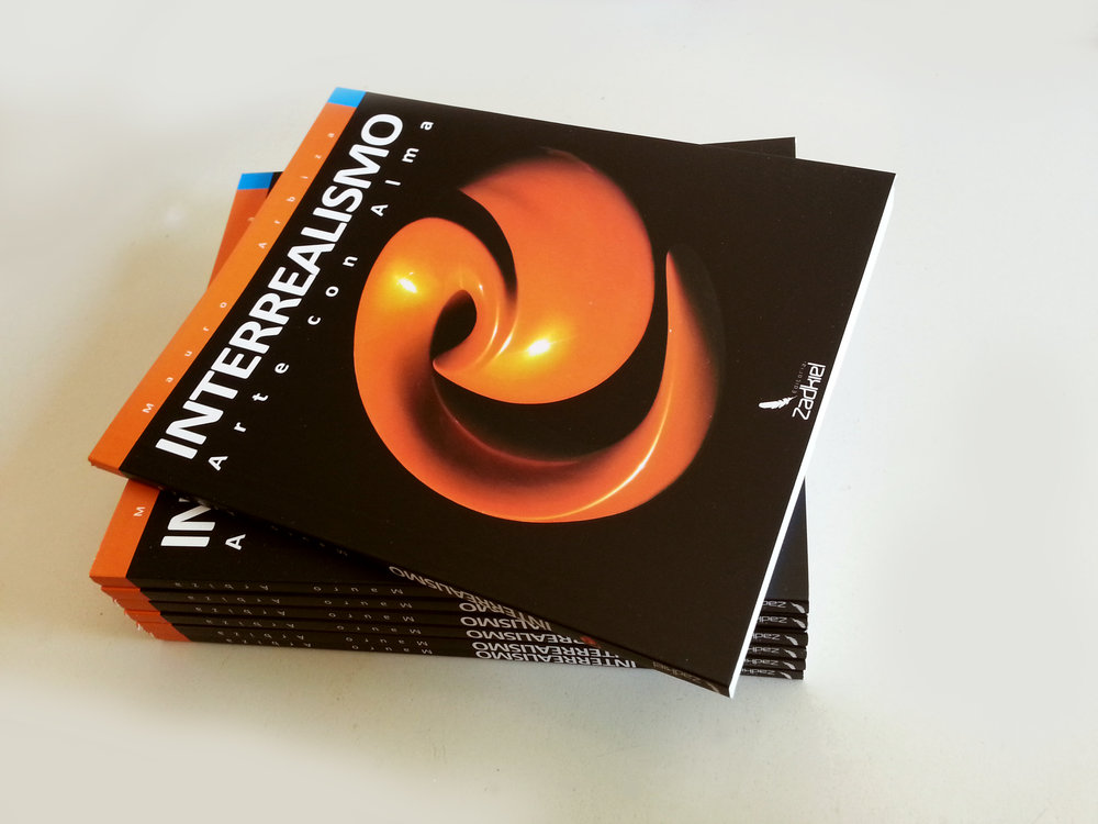 Libro interrealismo, arte con alma, autor: Mauro Arbiza