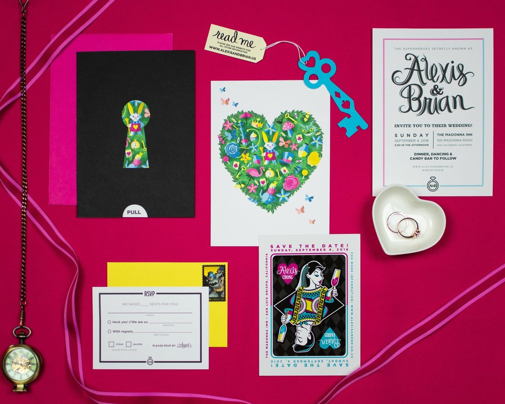 DIAMOND - Customized Branding Guide with Logo, Logotype, Color + Font SuggestionsInvitation Design(5) Designs of Additional Paper Goods(3) Rounds of RevisionsDigital Printing Included100 envelopes IncludedAssembly Included