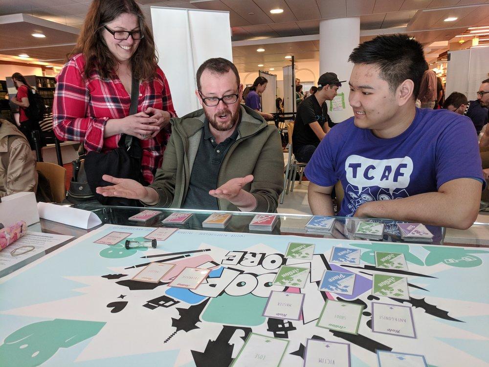 TCAF (Comics X Games) 2018