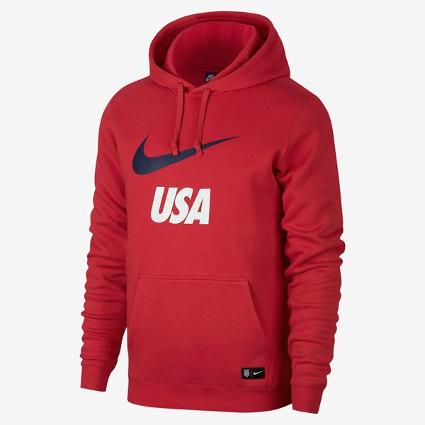 Sneaker Drop — Now Available: 'University Red/Navy' Nike 'Team USA' Hoodie