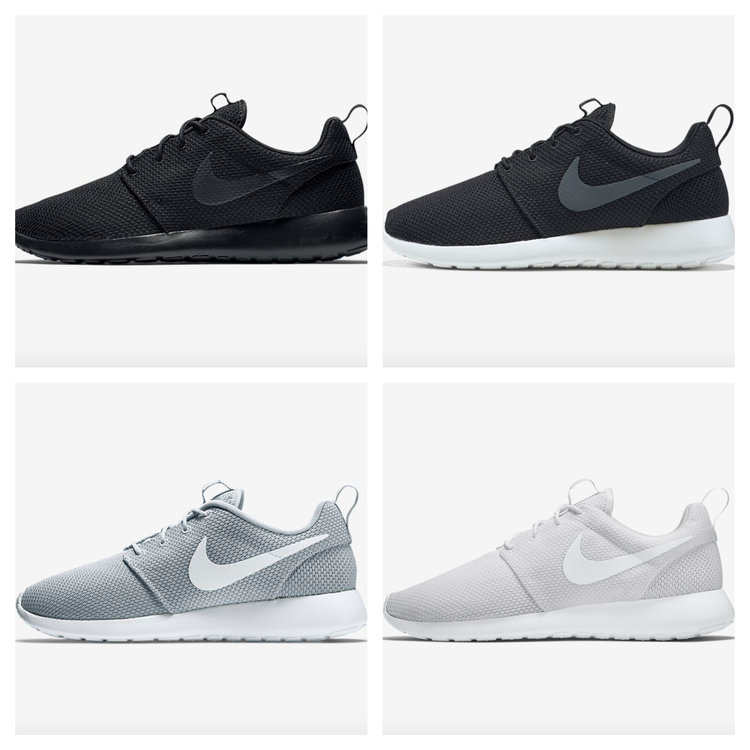 e470e3a6a5c21 Sneaker Drop — On Sale  Nike Roshe One Colorways