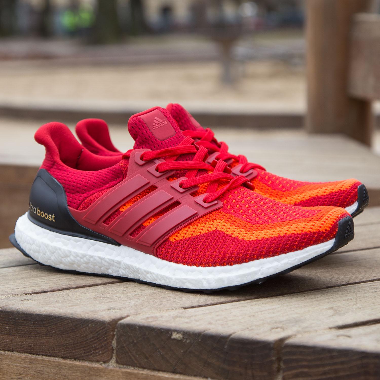 f89910baf4f5 Sneaker Drop — On Sale  adidas UltraBOOST 2.0  Red Gradient