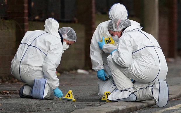 Forensic science technicians -
