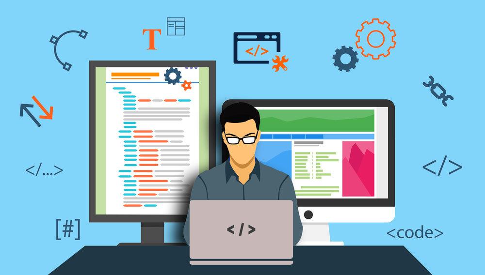 Web development -