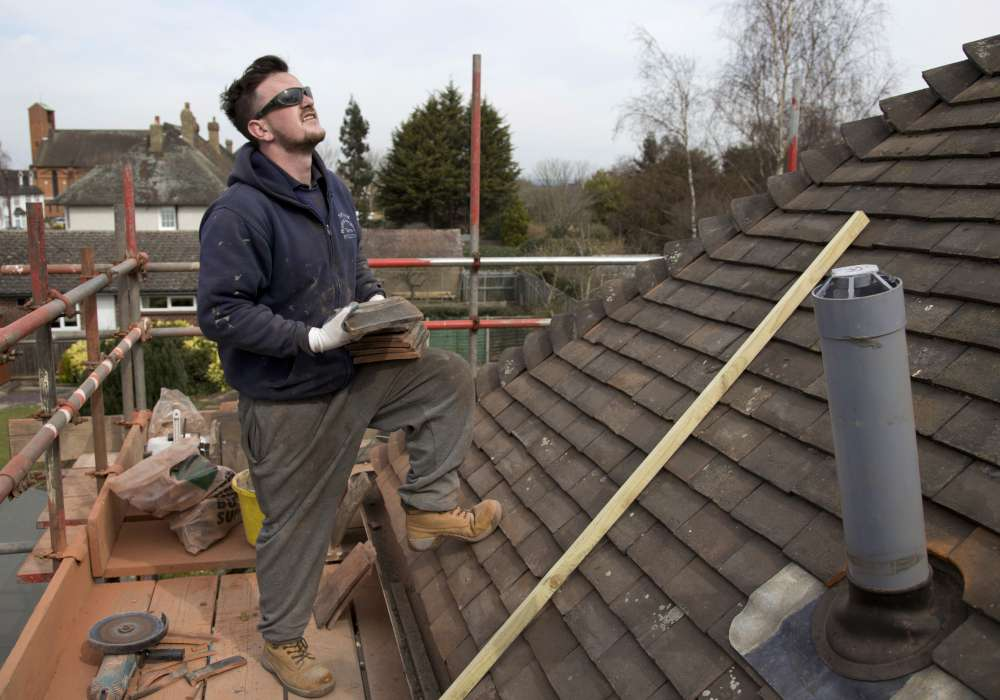 roofers -