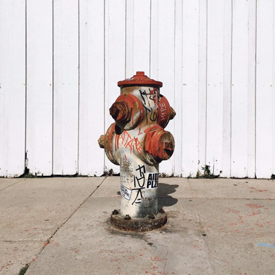 "Fire Hydrant - Out taking pictures one day and some transient dude came up and started drinking from a fire hydrant. He yelled ""Free water!"" and started guzzling. #CrazyAssPeopleLos Angeles / 11:13 AM / 9.17.18"