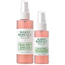 Mario Badescu Facial Spray Rosewater Duo