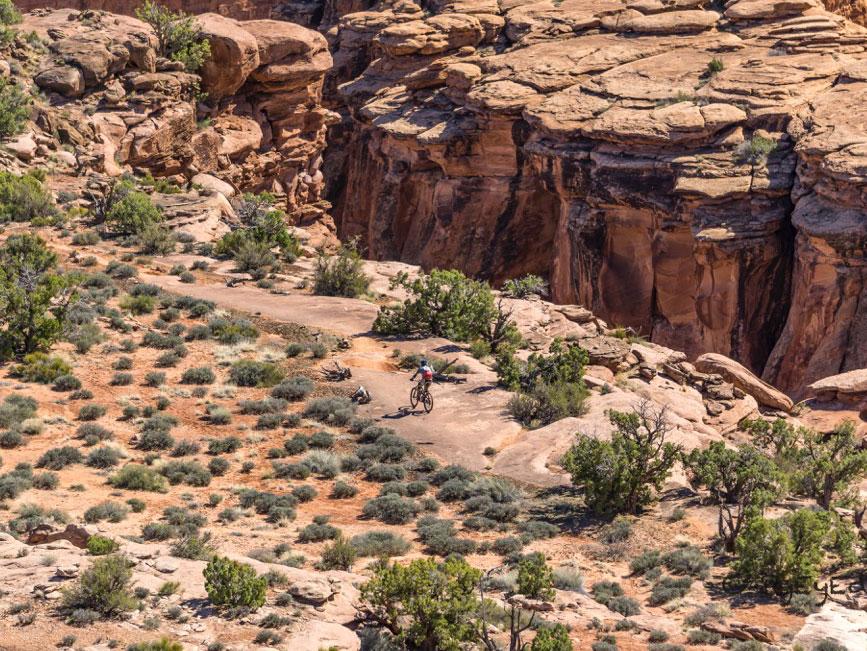 moab biker