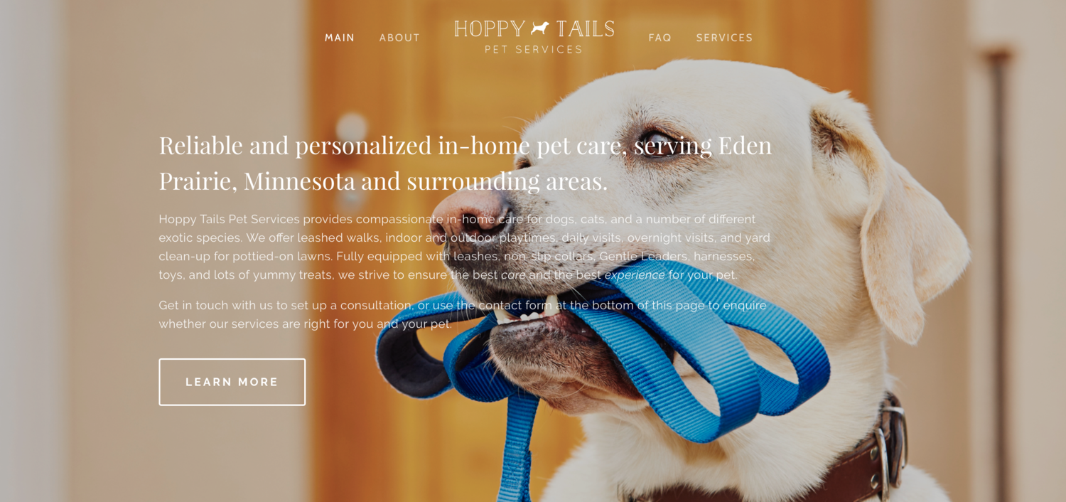 Hoppy Tails Pet Services Llc