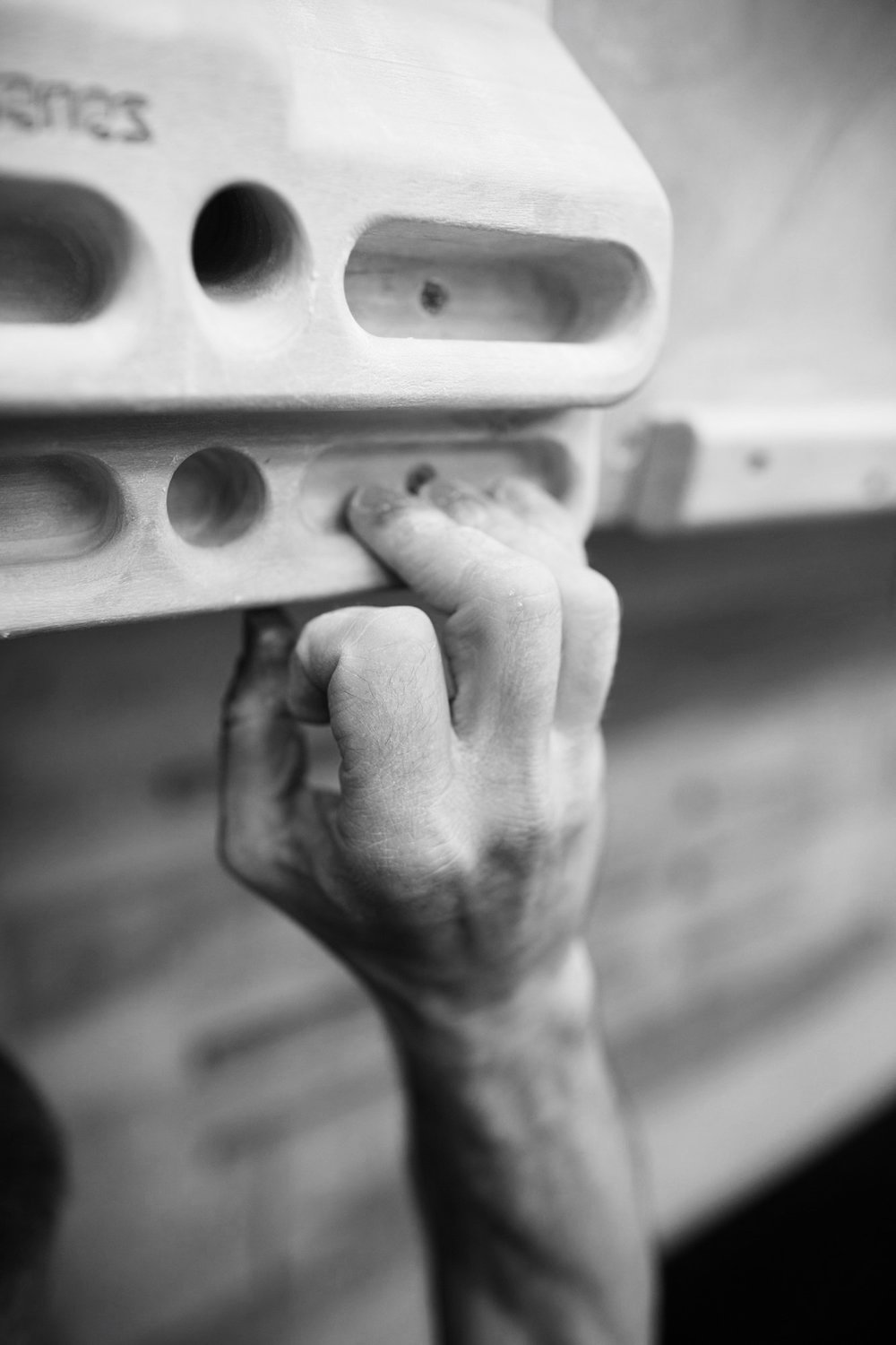 Beastmaker strength tests will identify which finger grips are strongest and weakness. Photo: Nick Brown