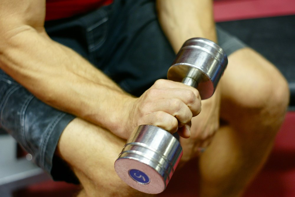 Reverse wrist curls are an important exercise for balancing the forearm and preventing injuries.   Photo: Mike Robertson