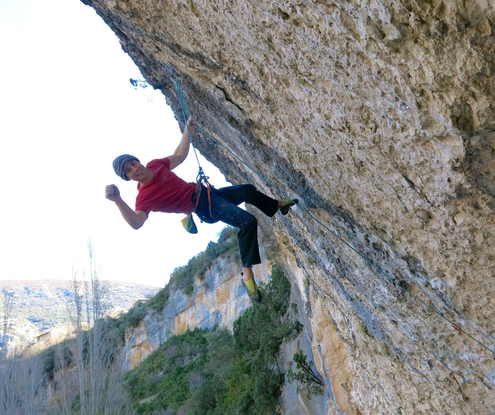 Neil tops out on his first 8b+/c, Welcome to Tijuana in Rodellar, Spain. Climbed at the age of 43, whilst living in London and with a young family. Proof that it can all be done if you're disciplined and make the most efficient use of your time.