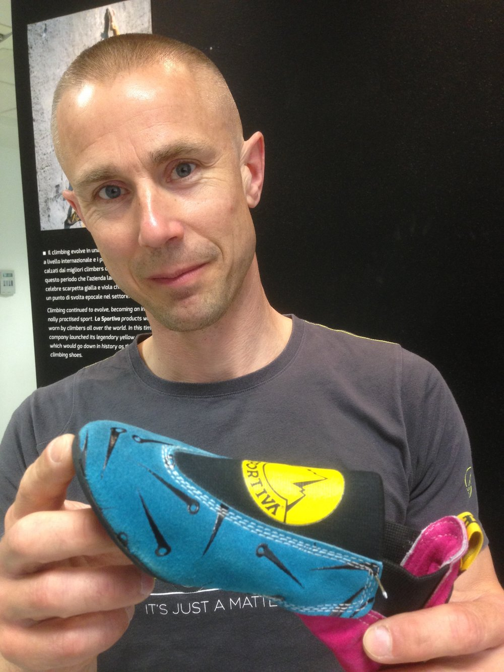 The birth of No-Edge Technology - La Sportiva's Ballerina slipper from the mid 1980s was the first stage of an evolutionary journey that took 3 decades.