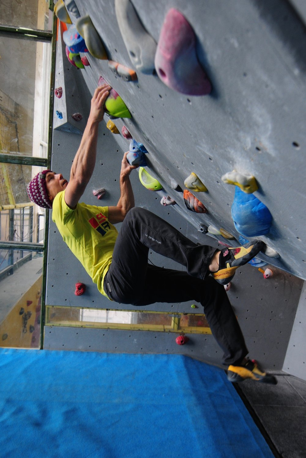 The Skwama is my current go-to shoe for training and indoor climbing. Photo: Ian Parnell