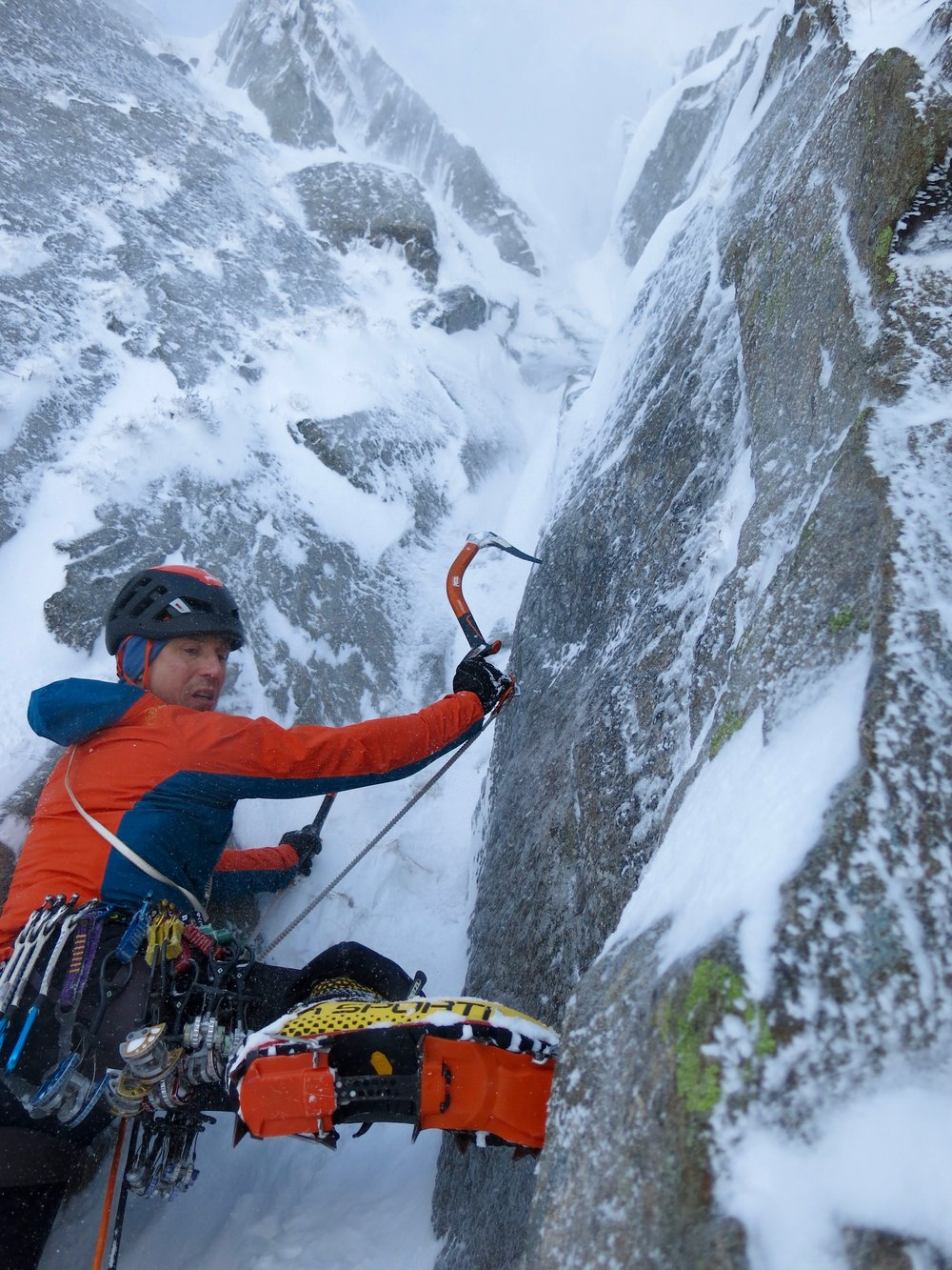 Heirloom VI 6, Lake District, UK, wearing G5s. Photo: Andy Clarke