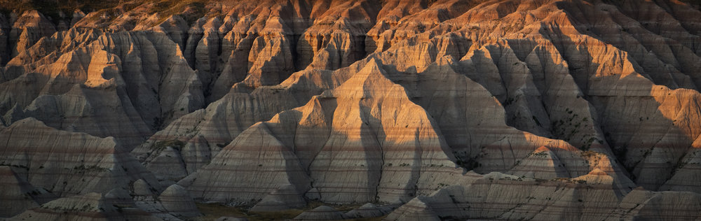 Badlands National Park - Image Size: 20x60Already Sold: 0/5Current Price: $800