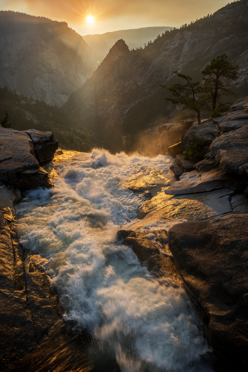 Nevada Falls - Image Size: 16x24Already Sold: 0/20Current Price: $350