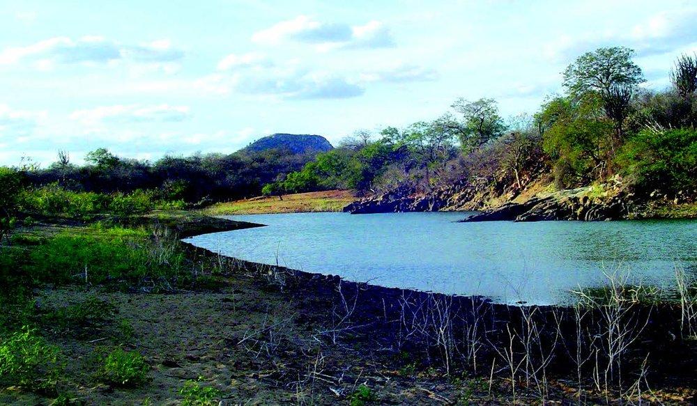 Riacho Pontal, afluente do rio São Francisco