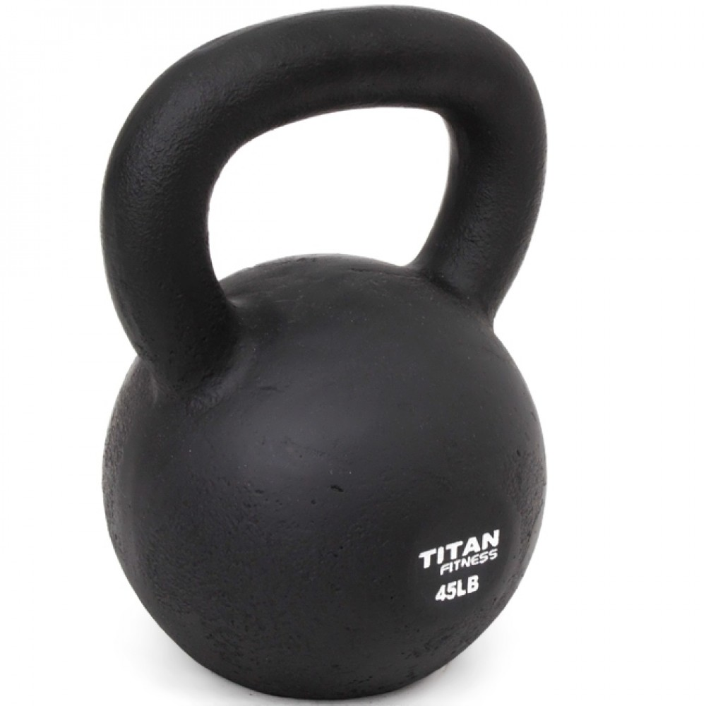 Kettlebell - Swinging and squatting are two of the movements that we encourage the most. You can add pressing and lunging and pulling and carrying to the list as well.Adding a nice heavy kettlebell into the mix will really help you out. They are extremely versatile tools - shoot for one 45lb bell or maybe a pair of 35's and a 53lb kettlebell.