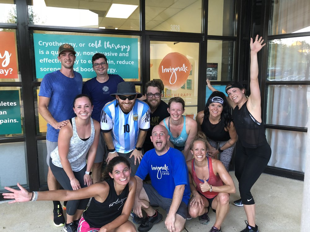 Previous Event: - On Monday, June 18th at 6 p.m., Invigorate Cryo will be hosting a GSN workout outside of their facility. After the class, they will be offering whole body cryo sessions, FREE for GS Nation members. You should definitely come experience this!*Bring extra pair of dry (not sweaty) underwear to change into after workout/before cryo