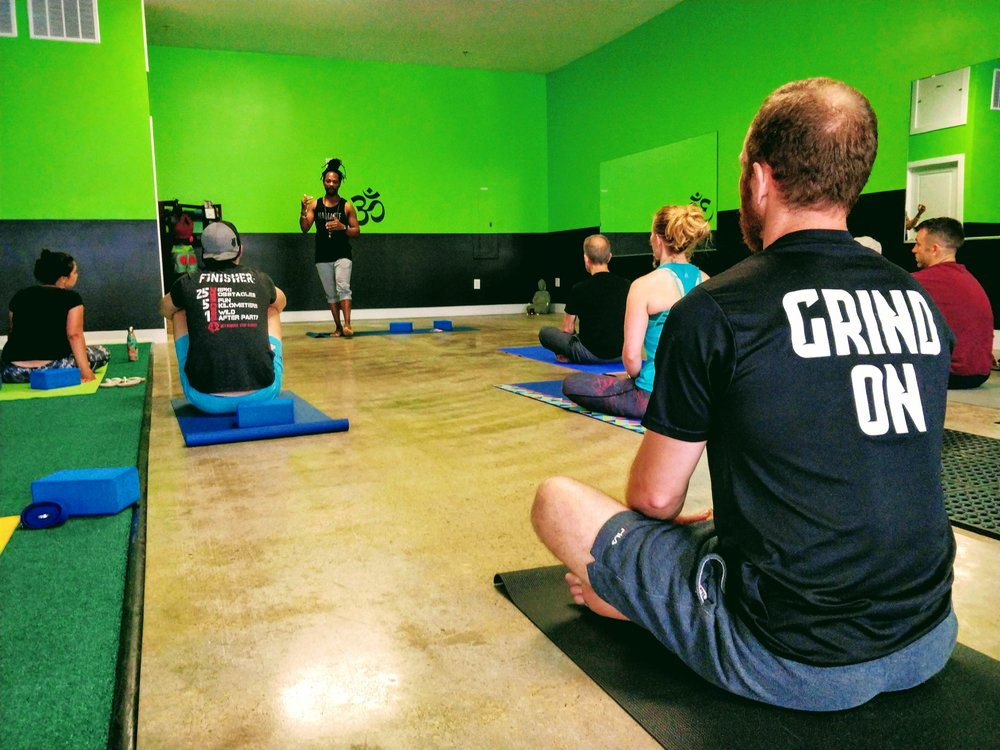Island Yoga Flow - 1st /3rd Thursdays - Every first & third Thursday, our fantastic yogi, coach, and trainer Ravi McPhee will be hosting a recovery-focused yoga flow at his studio, Island Yoga Fitness. If you haven't checked out a bit about Ravi, head over to