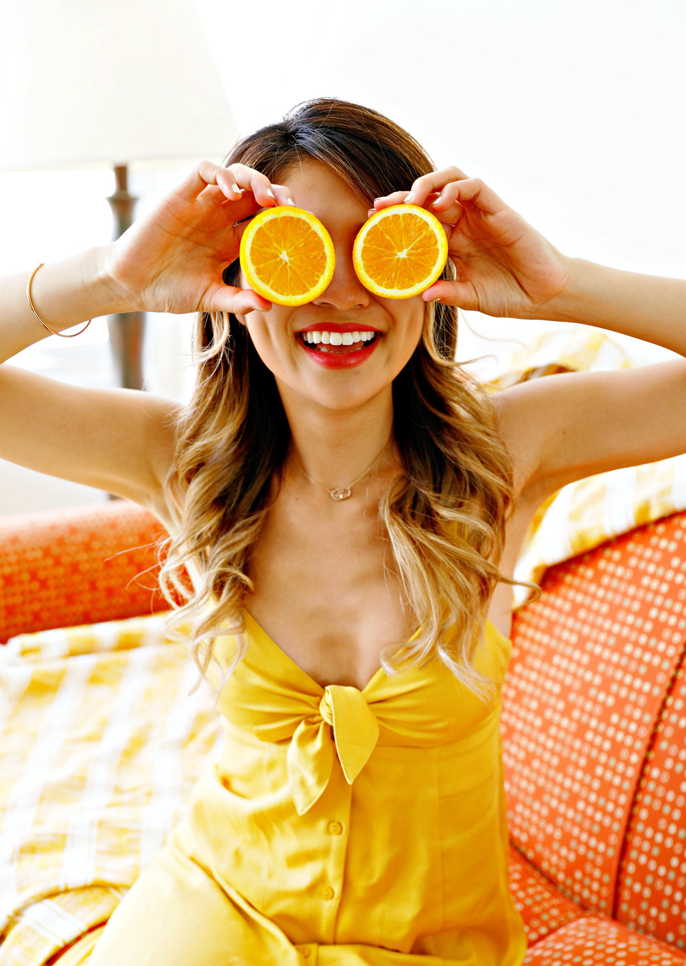 How to Pose with Citrus Fruits FashionbyAlly