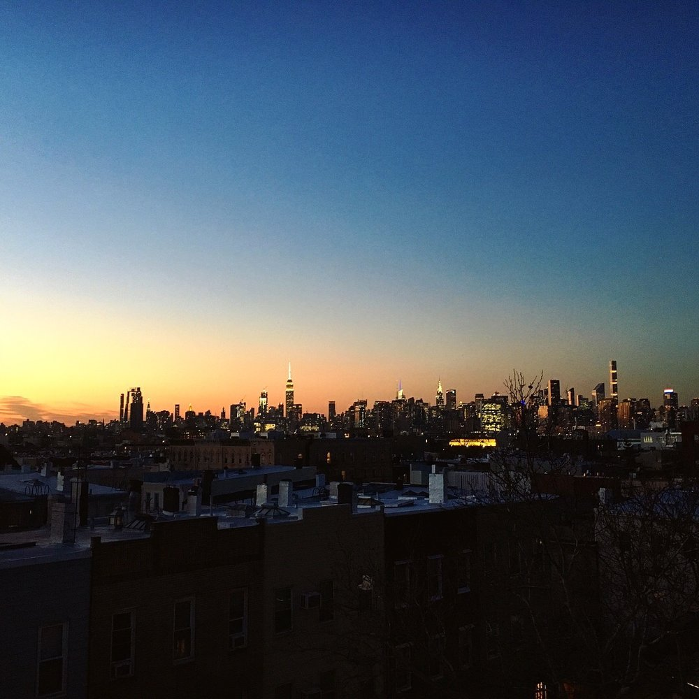 Once back, I have the chance to catch-up the sunset on the rooftop.  Are you serious NYC?! Are you THAT beautiful everyday?! -